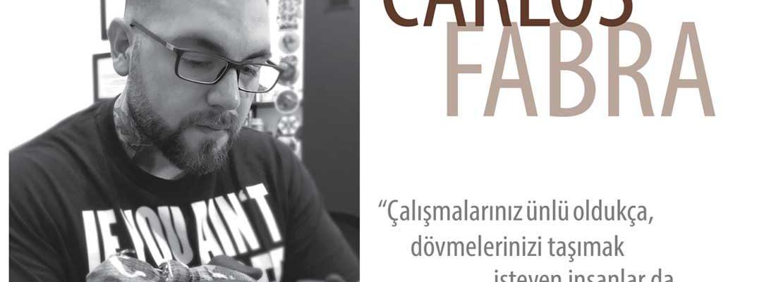 CARLOS FABRA – ''Çalışmalarınız ünlü oldukça, dövme kültürü gelişmiş dövmelerinizi taşımak isteyen insanlar da carlosfabra_cosafina insanlar olacaktır.''